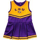 Girls Infant Colosseum Purple LSU Tigers Pinky Cheer Dress