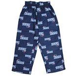 Preschool Navy Blue New England Patriots Allover Logo Printed Pants