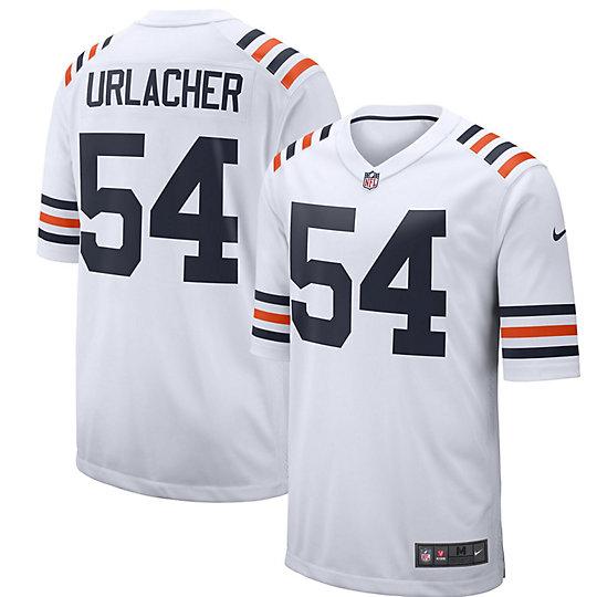 Men's Nike Brian Urlacher White Chicago Bears 2019 Alternate ...