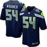 Youth Seattle Seahawks Bobby Wagner Nike College Navy Team Color Game Jersey
