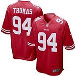 Men's Nike Solomon Thomas Scarlet San Francisco 49ers Player Game Jersey