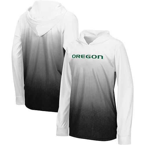 Youth Colosseum Black Oregon Ducks Magic Long-Sleeve Hooded T-Shirt