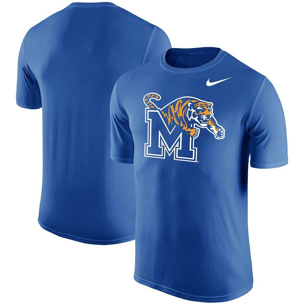Men's Nike Royal Memphis Tigers Big Logo T-Shirt