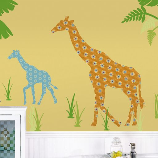 WallPops Rylie the Giraffe Wall Decals