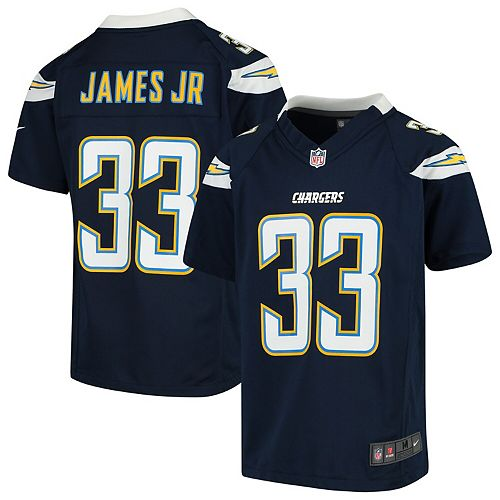cheap for discount c054b 9f1dd Derwin James Los Angeles Chargers Nike Youth Game Jersey Navy