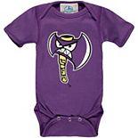 Infant Purple Stephen F Austin Lumberjacks Big Logo Bodysuit