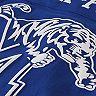 Women's Pressbox Royal Memphis Tigers Oversized Long Sleeve T-Shirt