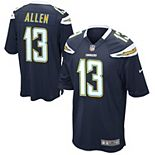 Mens Los Angeles Chargers Keenan Allen Nike Navy Blue Game Jersey