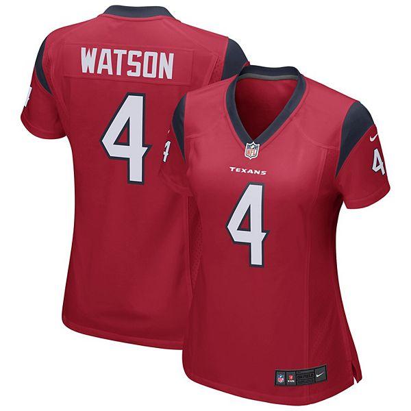 Women's Nike Deshaun Watson Red Houston Texans Team Color Game Jersey