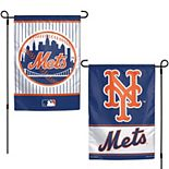 """WinCraft New York Mets 12"""" x 18"""" Double-Sided Garden Flag"""