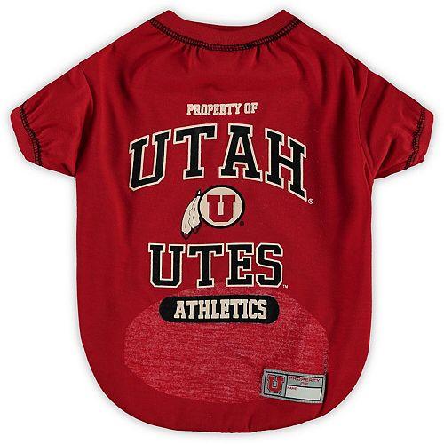 Utah Utes Pet T-Shirt