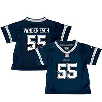 new arrival e1348 da387 Infant Nike Leighton Vander Esch Navy Dallas Cowboys Game Jersey