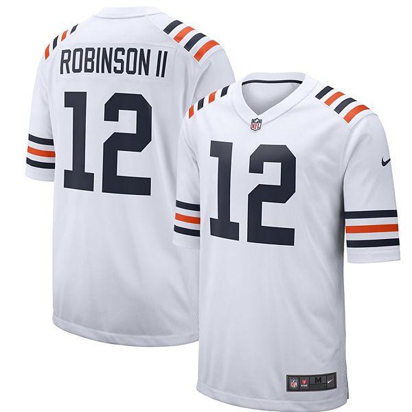 Men's Nike Allen Robinson White Chicago Bears 2019 Alternate Classic Game Jersey