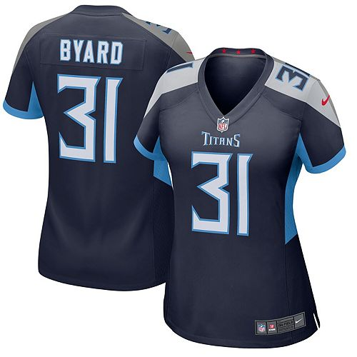 Women's Nike Kevin Byard Navy Tennessee Titans New 2018 Game Jersey