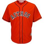 Youth Majestic Orange Houston Astros Official Cool Base Jersey