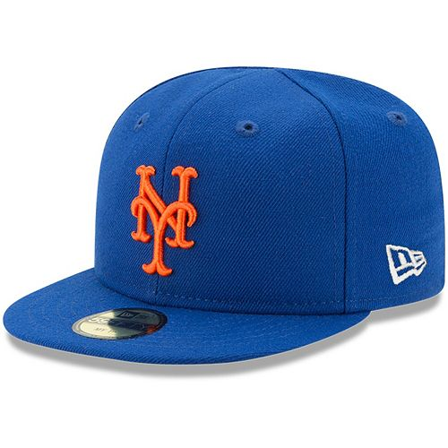 Infant New Era Royal New York Mets Authentic Collection On-Field My First 59FIFTY Fitted Hat