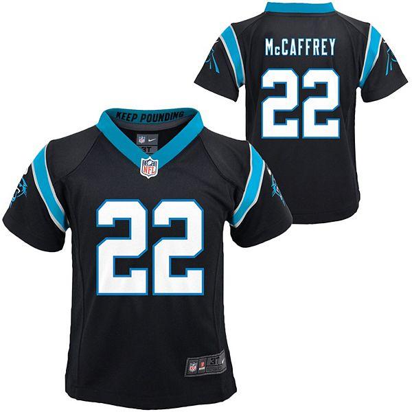 Toddler Nike Christian McCaffrey Black Carolina Panthers Player Game Jersey
