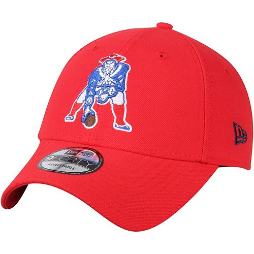 latest many fashionable detailed look Men's New Era Red New England Patriots The League Throwback ...