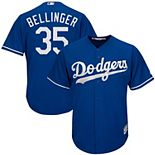 Men's Majestic Cody Bellinger Royal Los Angeles Dodgers Big & Tall Fashion Cool Base Replica Player Jersey