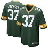 Men's Nike Josh Jackson Green Green Bay Packers Game Jersey