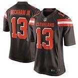 Men's Nike Odell Beckham Jr Brown Cleveland Browns Game Jersey