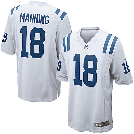 Men's Nike Peyton Manning White Indianapolis Colts Retired Player ...