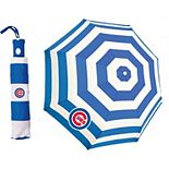 Chicago Cubs Cabana Stripe Folding Umbrella