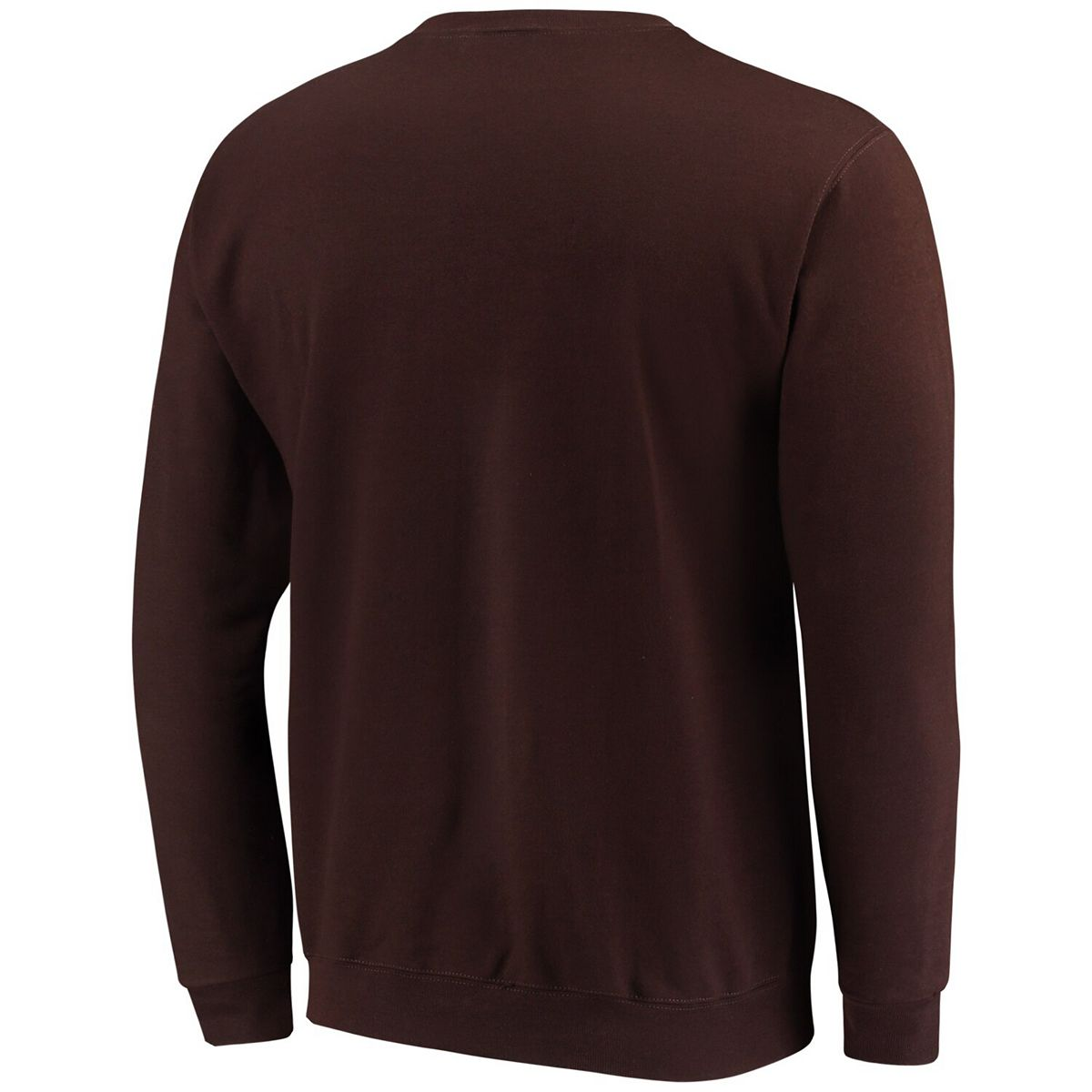 Men's Champion® Brown Wyoming Cowboys Eco Powerblend Expansion Pullover Sweatshirt CXCVL
