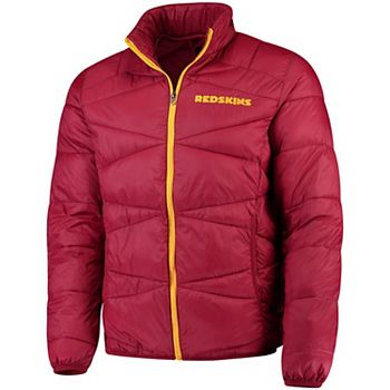 new product 9ef9d 5819c Men's G-III Sports by Carl Banks Burgundy Washington Redskins Blitz  Packable Puffer Full-Zip Jacket