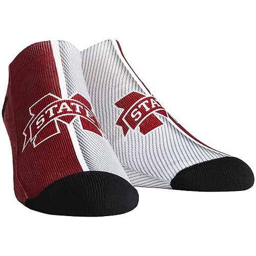 Women's Mississippi State Bulldogs Campus Stripe Ankle Socks