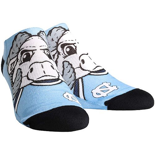 Women's North Carolina Tar Heels Mascot Low Ankle Socks