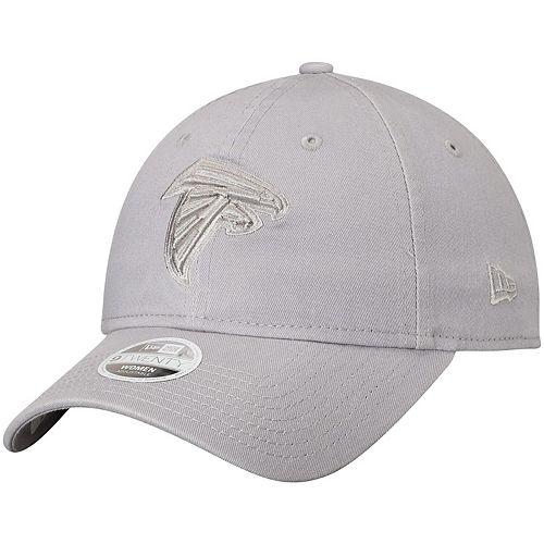 Women's New Era Gray Atlanta Falcons Tonal Core Classic 9TWENTY Adjustable Hat