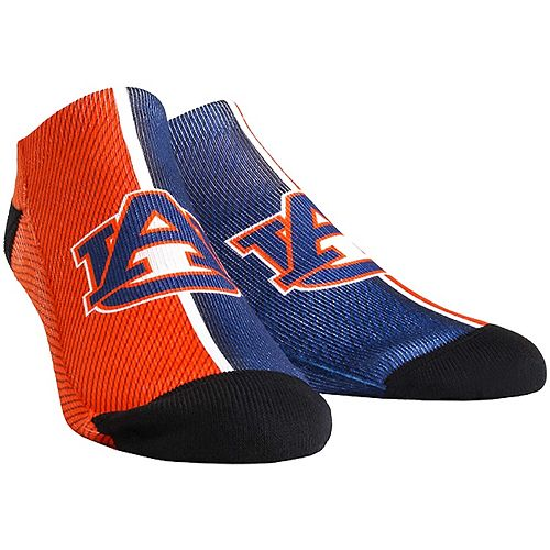 Women's Auburn Tigers Campus Stripe Ankle Socks