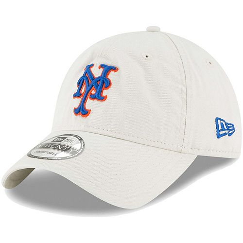 Men's New Era Tan New York Mets Core Classic Twill 9TWENTY Adjustable Hat