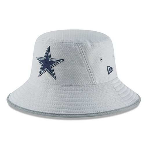 New Era Dallas Cowboys Gray 2018 NFL Training Camp Official Bucket