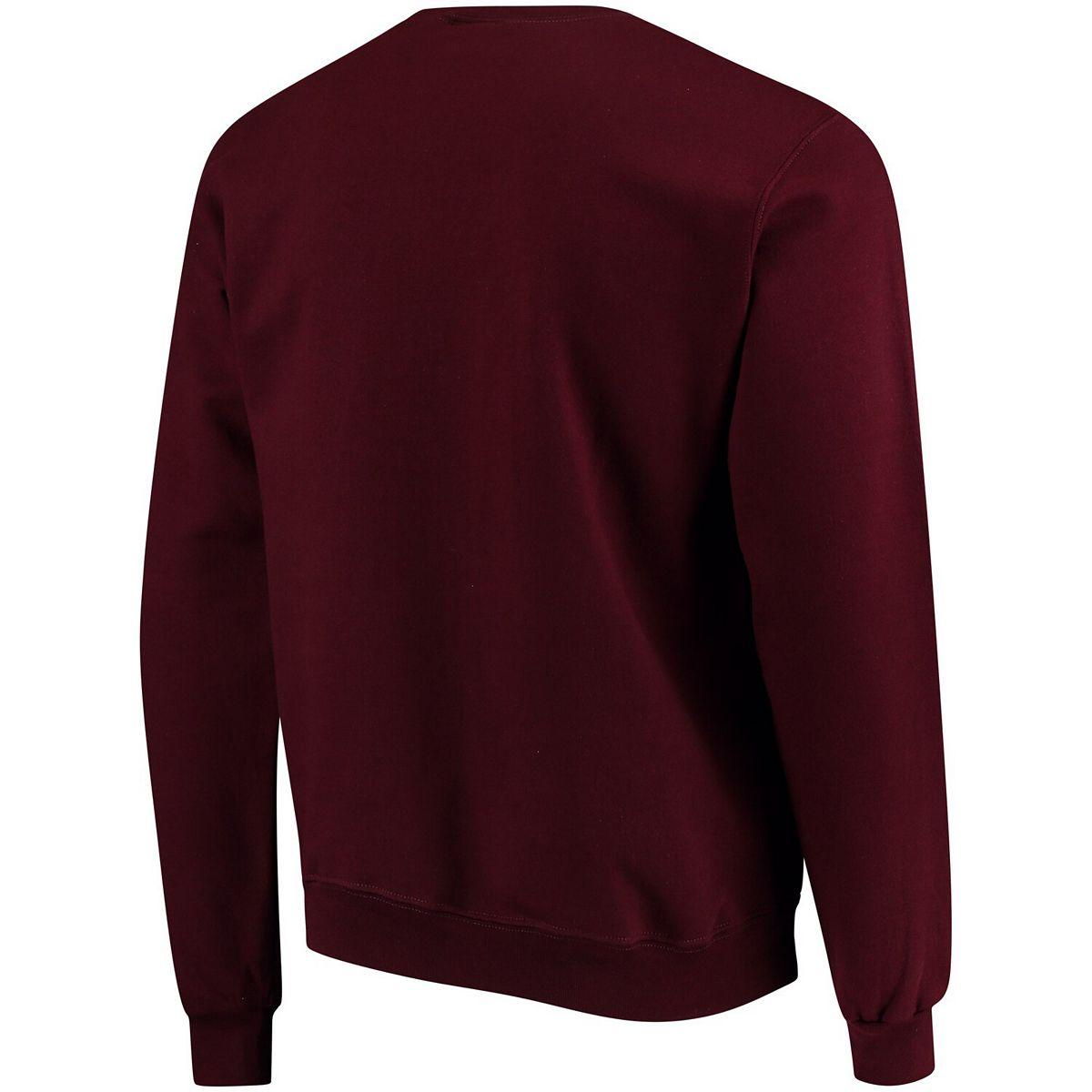 Men's Champion® Maroon Boston College Eagles Eco Powerblend Expansion Pullover Sweatshirt VtuaH