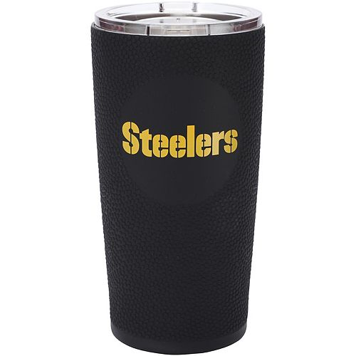 Pittsburgh Steelers 20oz. Stainless Steel with 3D Silicone Tumbler