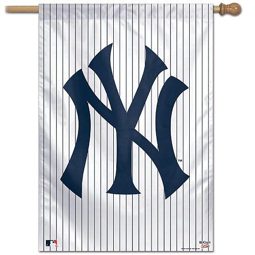 "WinCraft New York Yankees 28"" x 40"" Pinstripe Single-Sided Vertical Banner"
