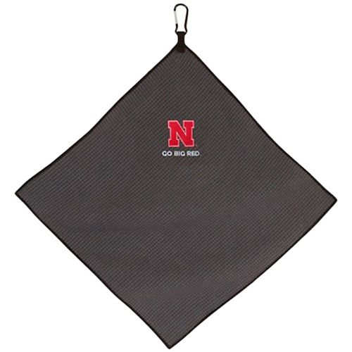 "Nebraska Cornhuskers 15"" x 15"" Microfiber Golf Towel"