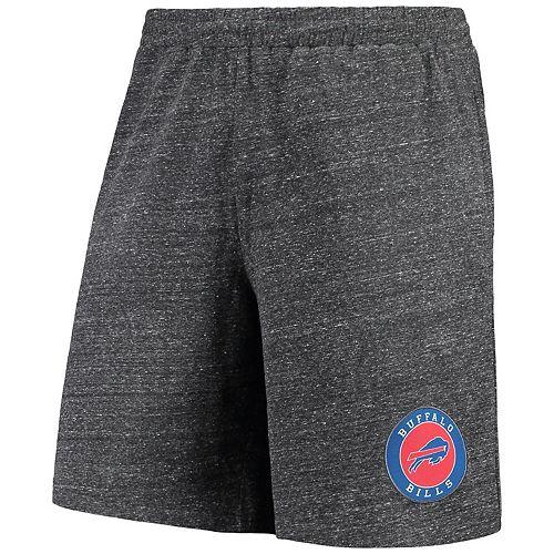 Men's Concepts Sport Charcoal Buffalo Bills Pitch Knit Shorts