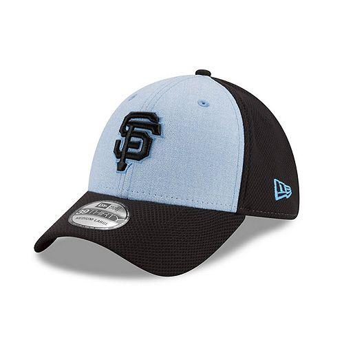 Men's New Era Light Blue San Francisco Giants 2018 Father's Day 39THIRTY Flex Hat