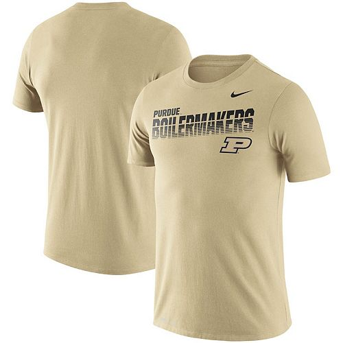 Men's Nike Gold Purdue Boilermakers Sideline Legend Performance T-Shirt