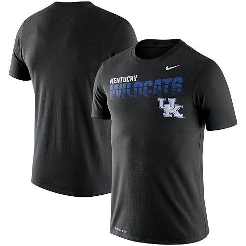 Men's Nike Black Kentucky Wildcats Sideline Legend Performance T-Shirt