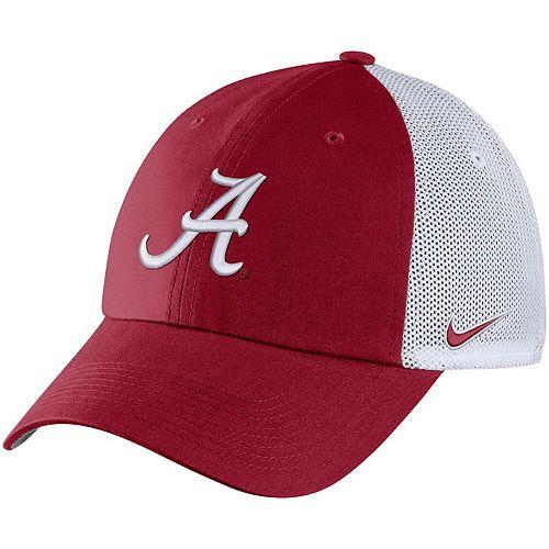Men's Nike Crimson Alabama Crimson Tide Heritage 86 Trucker Meshback Adjustable Hat
