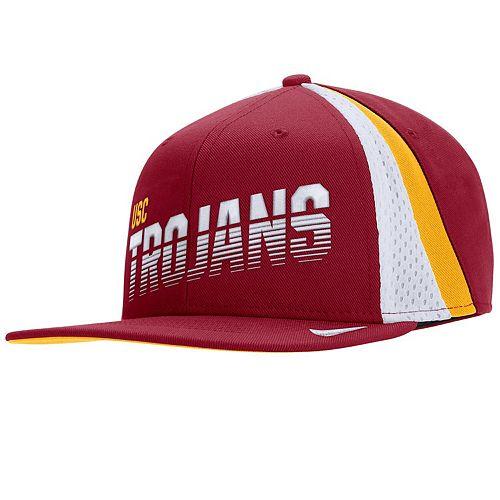 Men's Nike Cardinal USC Trojans Sideline Pro Adjustable Snapback Hat