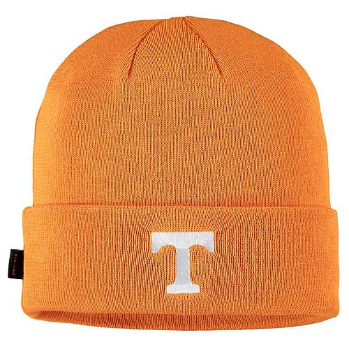 Men's Nike Tennessee Orange Tennessee Volunteers Sideline Performance Cuffed Knit Hat