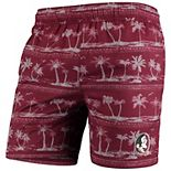 Men's Colosseum Garnet Florida State Seminoles Maui Swim Shorts