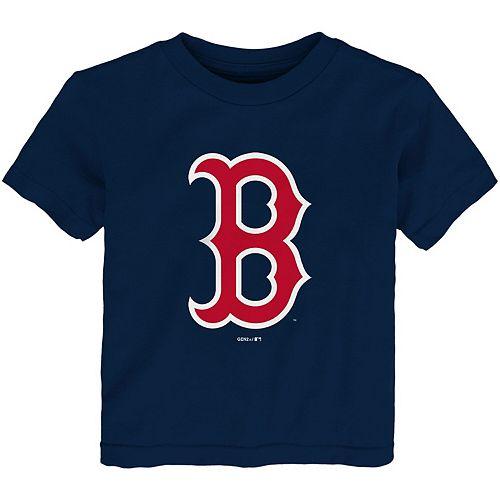 Toddler Navy Boston Red Sox Team Primary Logo T-Shirt