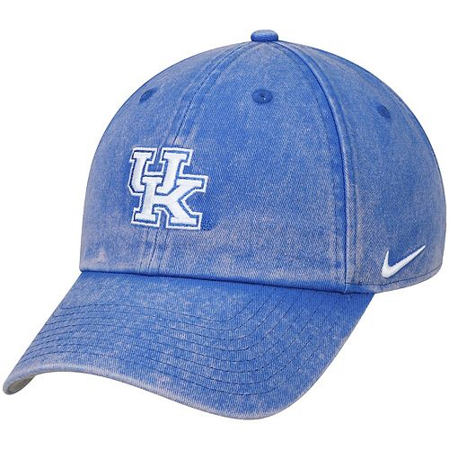 Men's Nike Royal Kentucky Wildcats Washed Heritage 86 Adjustable Hat