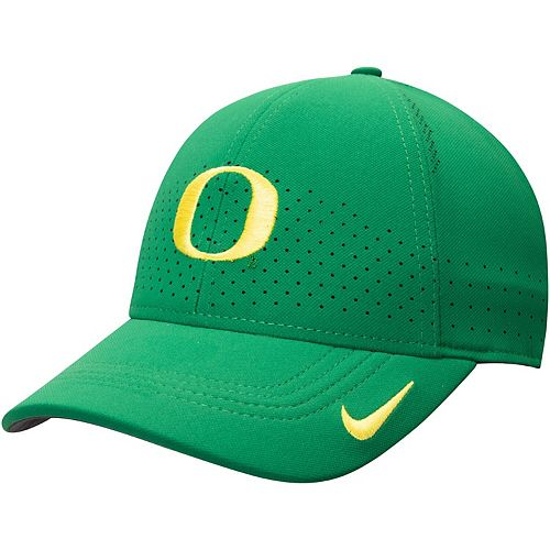 Men's Nike Green Oregon Ducks Classic 99 Sideline Performance Flex Hat
